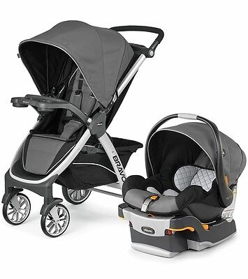 Chicco Bravo Trio 3-in-1 Travel System Stroller w/ KeyFit 30 Orion NEW Free Ship