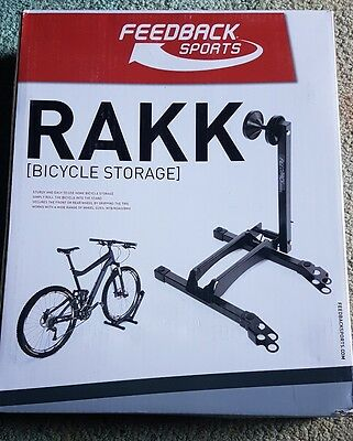 Feedback Sports RAKK Bike / Cycle Storage & Display Stand Black