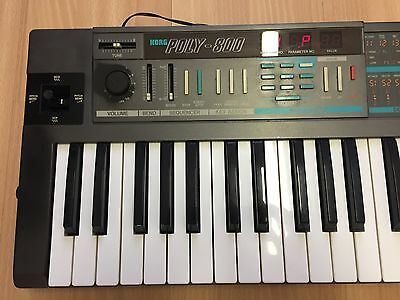 Korg Poly 800 analog Synth + Software + Sounds