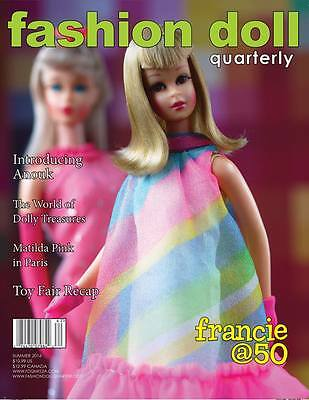 "Summer 2016 ""milestones"" Issue - Fashion Doll Quarterly Fdq Magazine New"