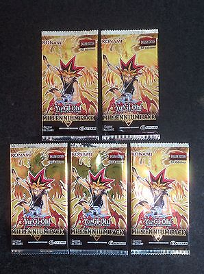 Yu-Gi-Oh! Millennium Pack Booster Pack x 5