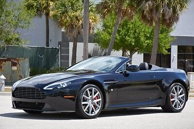 2012 Aston Martin Vantage S Convertible 2-Door 2012 VANTAGE V8 CONVERTIBLE - ONLY 17,000 MILES - SPORTS PACK - FULLY SERVICED