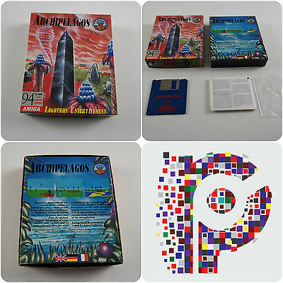 Archipelagos A Logotron Game for the Commodore Amiga Computer tested & working