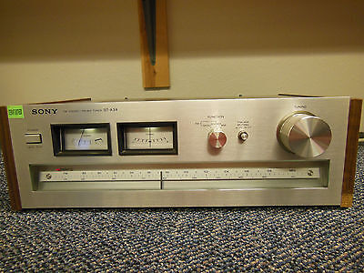 Vintage SONY ST-A3A AM/FM Stereo Tuner ☆ Serviced, Cleaned & Tested ☆