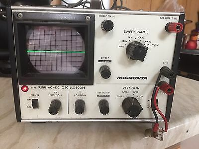 Micronta Oscilloscope vintage Used Electronic Test Equiptment