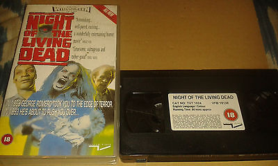 Night of The Living Dead / George Romero -  1993 VHS VIDEO -  HORROR -   PAL