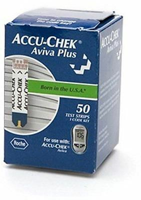 ACCU-CHEK Aviva Plus Test Strips 50 Each (Pack of 4)