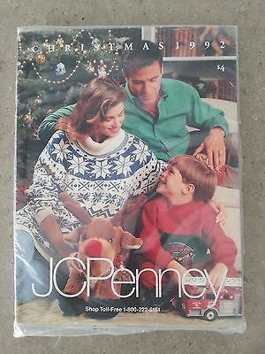 1992 JC Penney Christmas Catalog - Unopened in Original Wrapper