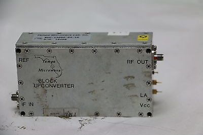 Tampa Microwave Block Up Converter L Band 50MHz reference Low Phase Noise