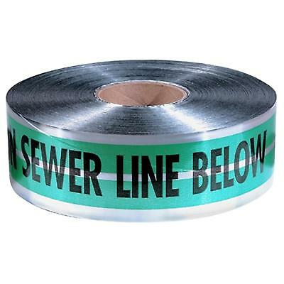 "31-055 Empire 6""X1000' Green Prem ""Caution Sewer Line Below"" Pack of 2"