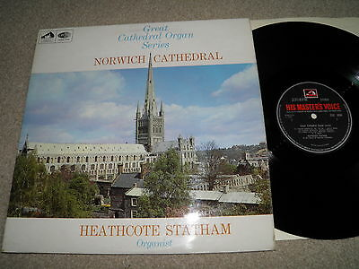 Great Cathedral organ series - Norwich - Statham HMV CSD 3604 STEREO 1967