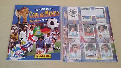 Coleccion Completa World Cup Story Panini ( 228 Cromos + Album )