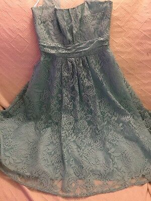 Brand New Green Party Dress Size 8