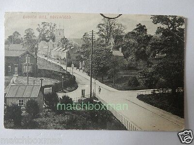 Church Hill Northfield Birmingham Postcard Postmarked 1907 Printed A686/257