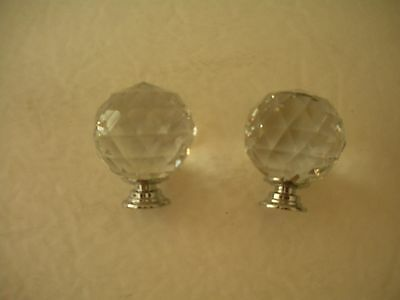 7 pcs Chrystal Cabinet Knobs for Kitchen Cupboard Dresser Pull