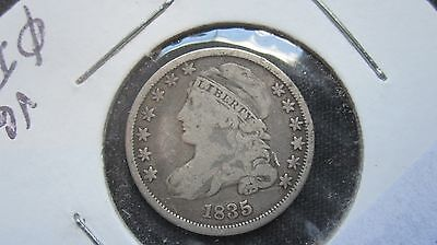 1835 CAPPED BUST DIME~Early U.S.SILVER~ VG+