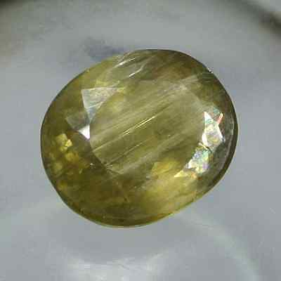 23.80 Ct.Best Color Natural Color Change Green Turkish Diaspore Very Good Luster