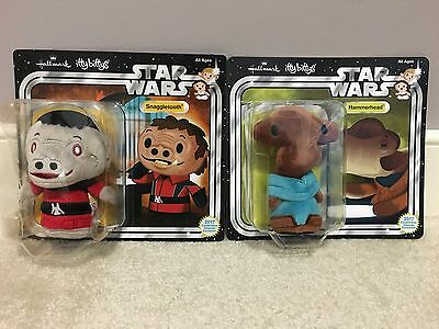 Star Wars Celebration 2017 Hallmark Snaggletooth and Hammerhead Itty bittys
