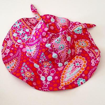 New Gymboree Girls Spring Sparkle Sun Hat Size 5-7 For Age 4-5