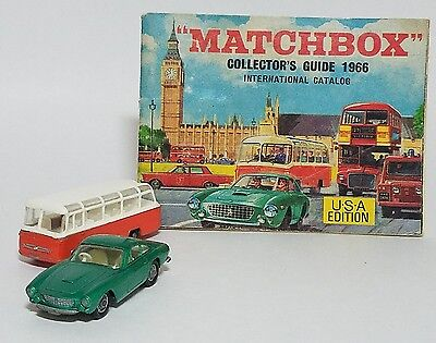 Matchbox Collectors Guide 1966 Catalog USA Edition with no.75 & 68 from cover!