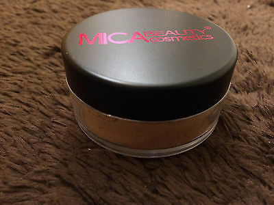Mineral Makeup Foundation Powder #MF-4 HONEY Mica Beauty Micabeauty Micabella