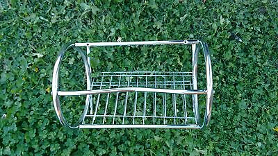 stailess steel rack magazine holder. Perfect condition