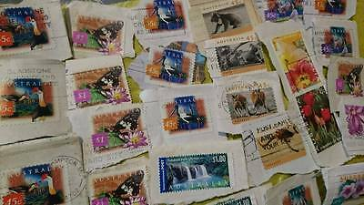 Australian Stamps #3 Birds Animals and Flowers
