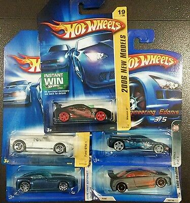 Hot Wheels collection, lot A, Civic si, Nissan Z, GTX-1, Chrysler, Supercars,new