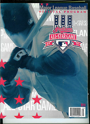 1997 All Star Game Program, Cleveland Indians