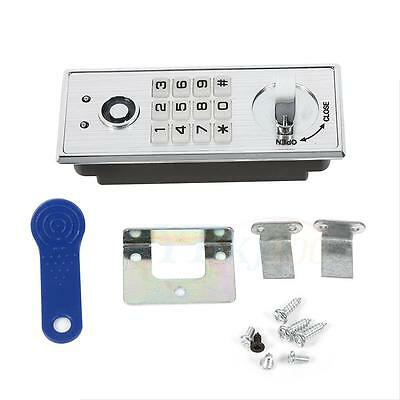 Keypad Password Key Access Coded Lock Digital Electronic Security Cabinet Locker