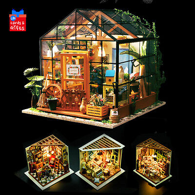 Wooden Dolls House Kit DIY Handcraft Miniature Project Kit