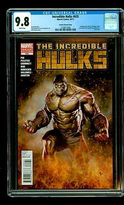 Incredible Hulks #635 Adi Granov Variant Rare! CGC 9.8!!! Thor Ragnarok Movie!