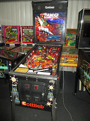 Operation Thunder Pinball Machine -  By Gottlieb 1992