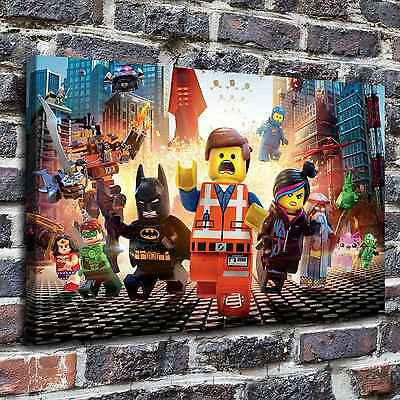 The lego movie Painting HD Print on Canvas Home Decor Wall Art Pictures posters