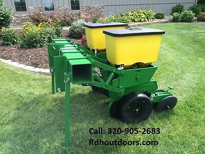 John Deere 2 Row 7100 Corn Planter Like NEW with Precision Finger Meters 71