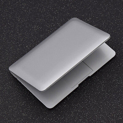 Doll Mini Laptop Dollhouse Accessories Real-like Compuer Silver Decoration
