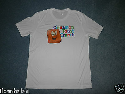 Cinnamon Toast Crunch Adult XL White T-shirt General Mills cereal Target GM Tee