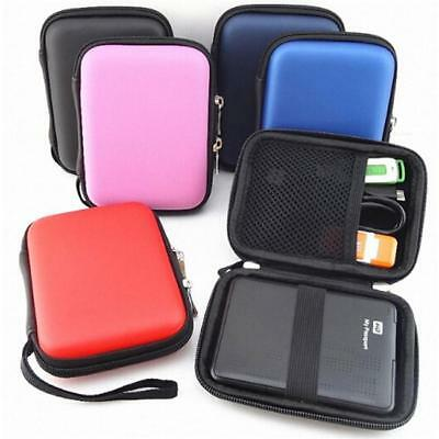 "1PC 2.5"" External USB Hard Drive Disk HDD Carry Case Cover Pouch Storage Bag Q"
