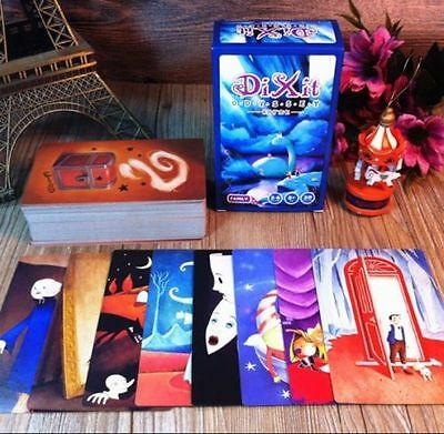 """NEW 110 PCS Cards Educational Cards Game For Family Board Game """"DIXIT"""" Expansion"""