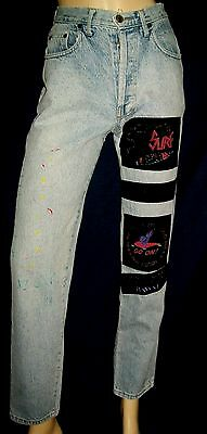 """Jeans VINTAGE taille haute coupe slim """"JETT """"   Taille 34/36"""