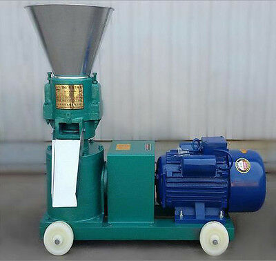 Farm Animal Pellet Mill Machine, Chicken Duck Feed Pellet Mill Machine 3KW 220V
