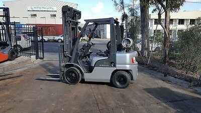Nissan PL02 Forklift 2.5 Ton 4000mm Lift Height New Paint $10999+GST Negotiable
