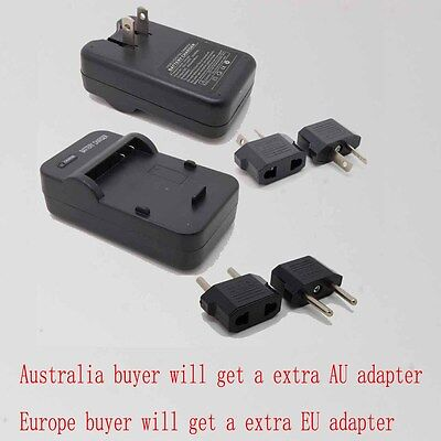 Wall Battery Charger For Canon NB-4L NB4L Digital IXUS 55 60 65 70 75 80 I I7 IS