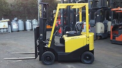 Hyster Electric Forklift 4.8M Lift 1.8 Ton Container Mast $5,999+Gst Low Hours