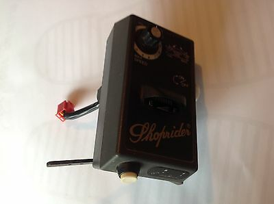Shoprider Deluxe Head Unit Wig Wag Speed Control On Off Switch