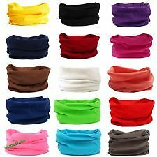 Multi use Balaclava Cycling Biker Neck Tube Scarf Snood Face Mask Warmer Bandana