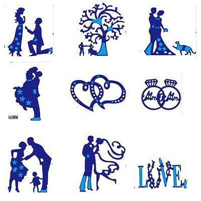 New Metal Cutting Dies Stencil For Scrapbooking Embossing Album Paper Card Craft