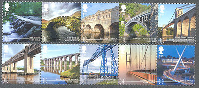 Great Britain-Bridges set mnh -Architecture