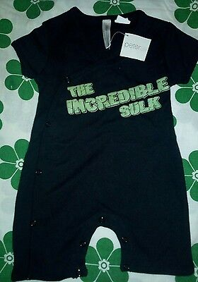 @@ Peter Alexander Baby Boy One-Piece Size 3/6 Mths New @@