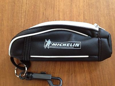 Golf Ball Bag / Holder Michelin With Belt Clip